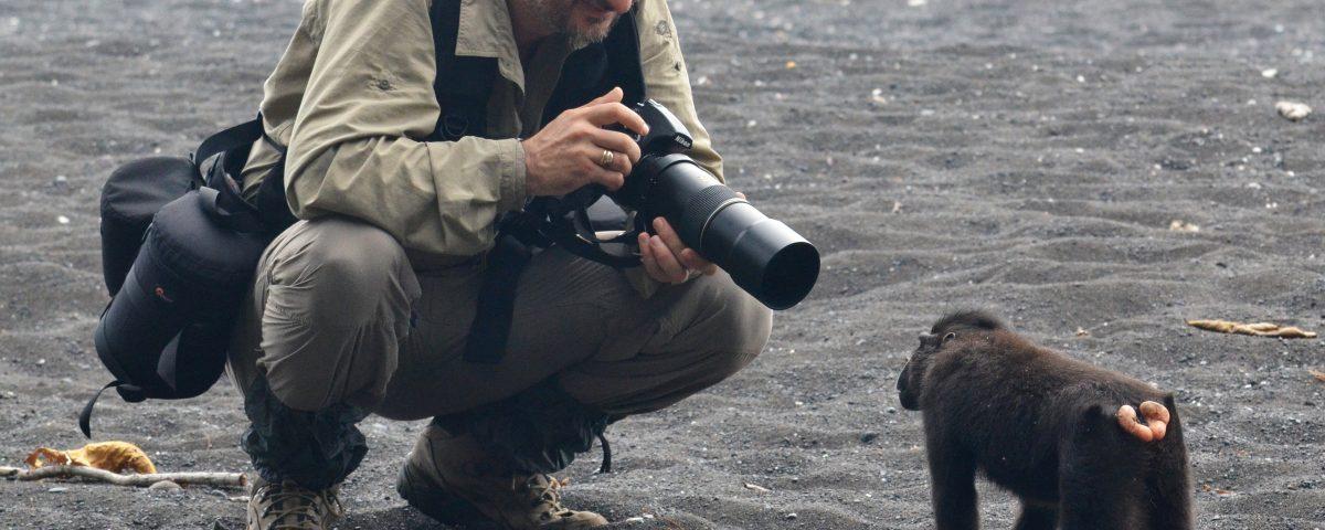 """Откриване на фотоизложба """"Горските хора"""" в Софийския зоопарк"""