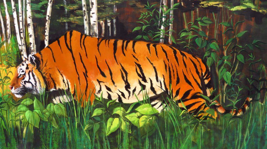 Нова интерактивна образователна експозиция за тигрите по света в Зоологическа градина – София