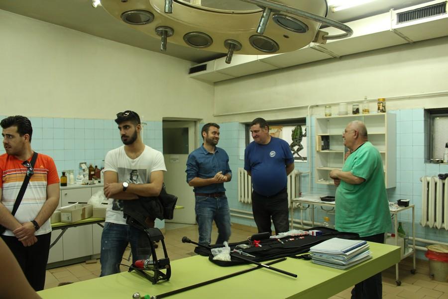 Практическо обучение на студенти по Ветеринарна медицина
