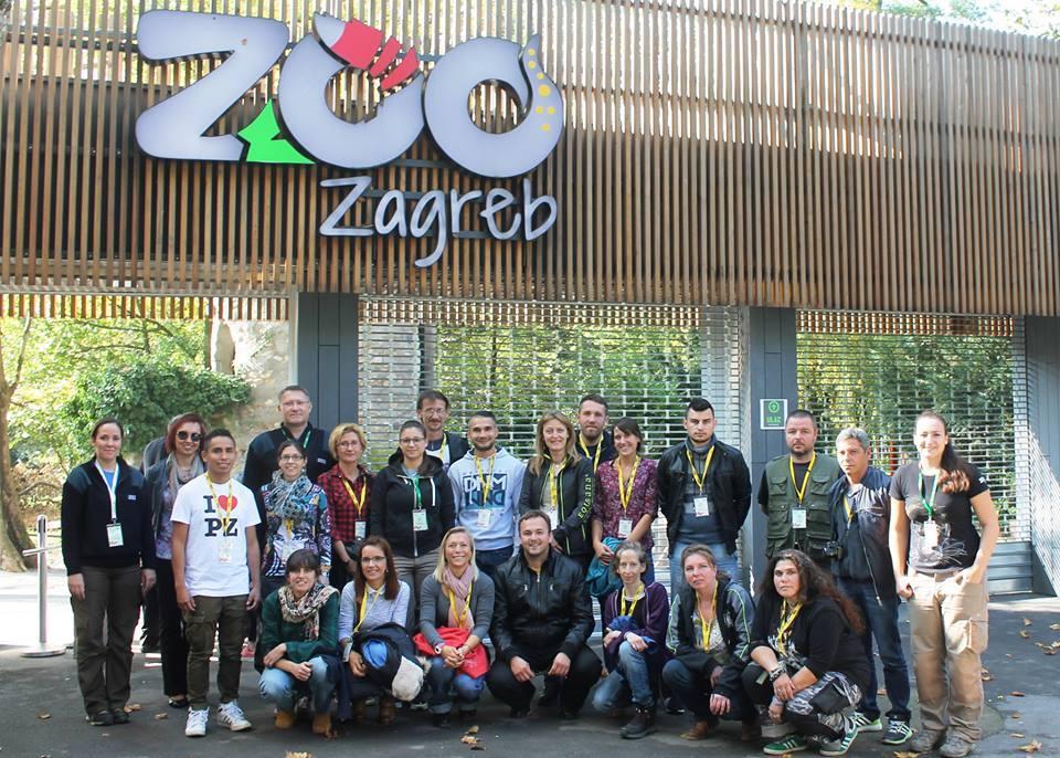 Гледачи от Софийския зоопарк участват в курс за обучение на животни в Загреб.