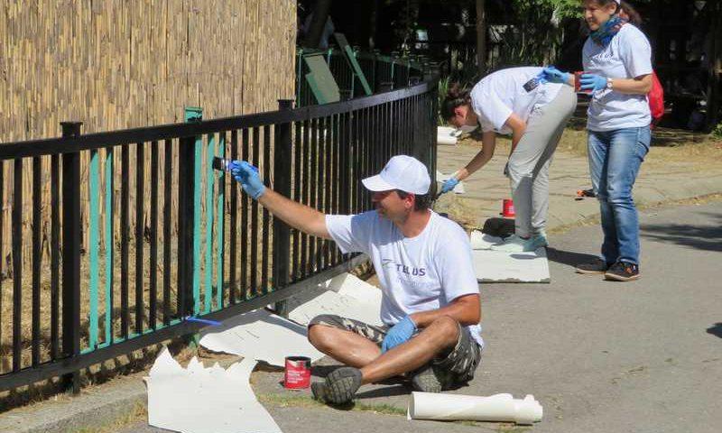 Мащабна доброволческа акция в Зоологическа градина – София